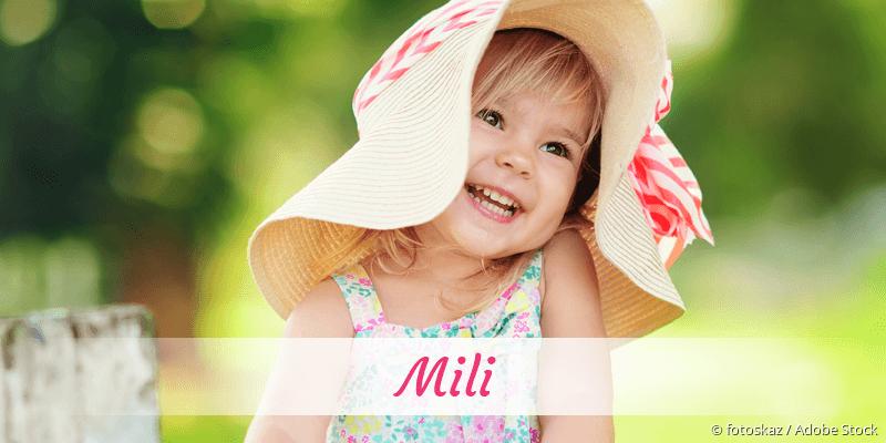 Name Mili als Bild