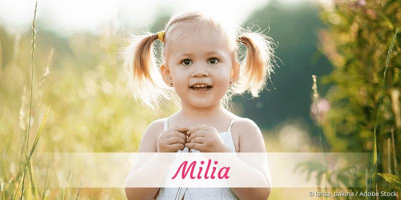 Name Milia als Bild