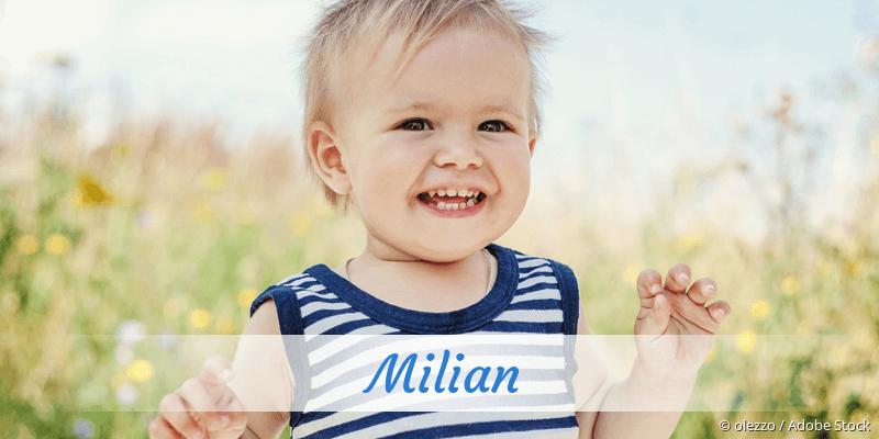 Name Milian als Bild