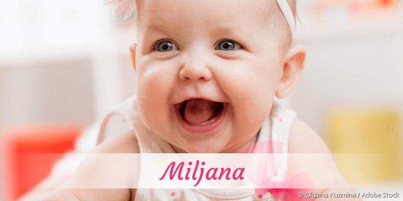 Name Miljana als Bild