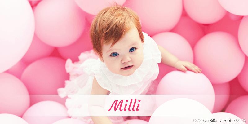 Name Milli als Bild