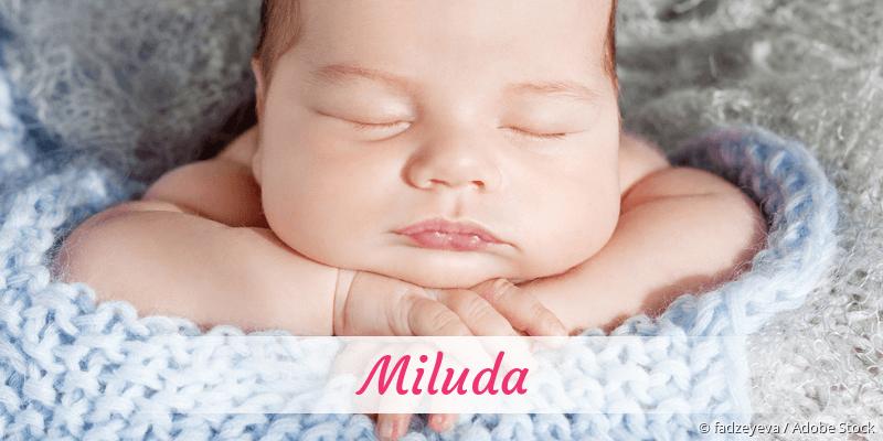 Name Miluda als Bild