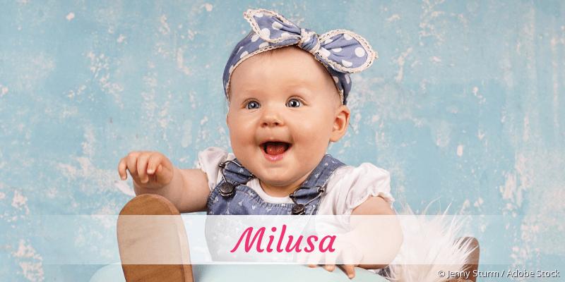 Name Milusa als Bild