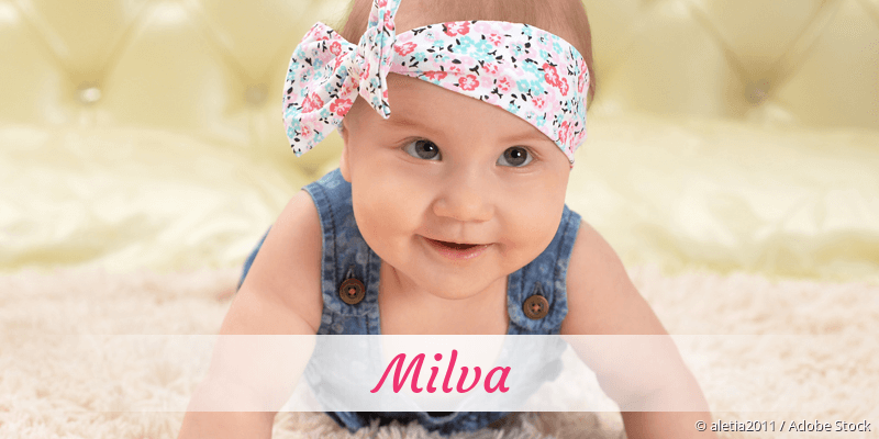 Name Milva als Bild