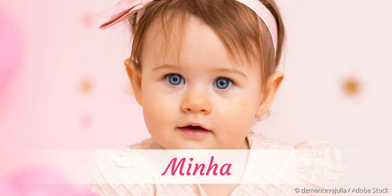 Name Minha als Bild