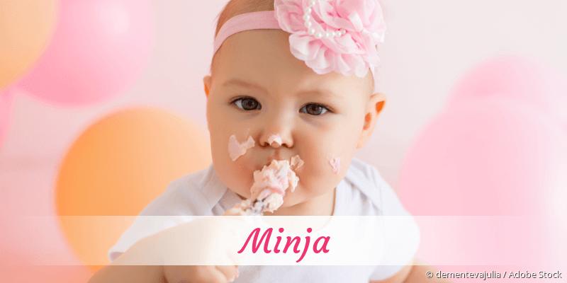 Name Minja als Bild