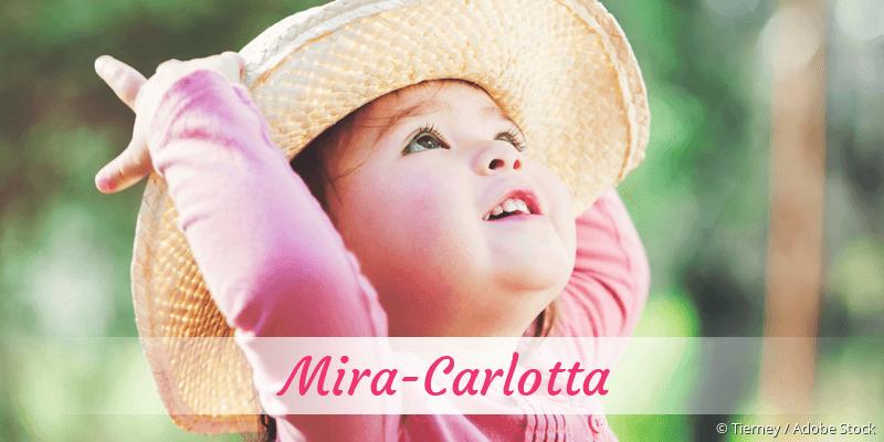 Name Mira-Carlotta als Bild