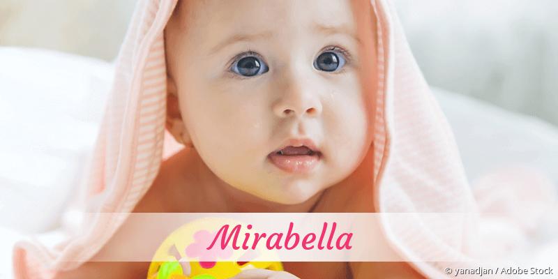 Name Mirabella als Bild