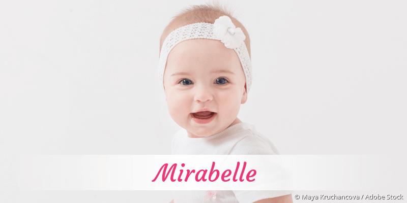 Name Mirabelle als Bild