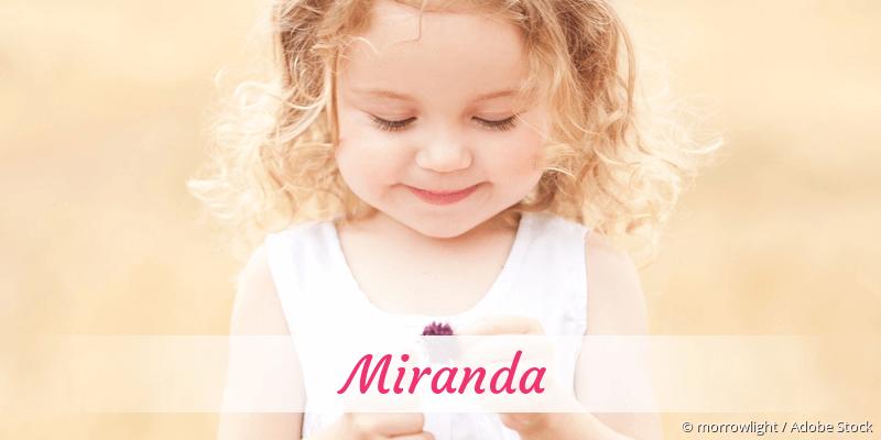 Name Miranda als Bild
