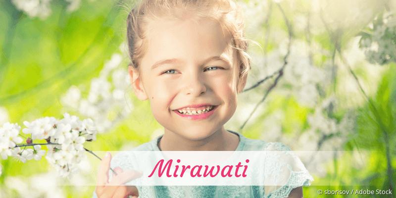 Name Mirawati als Bild