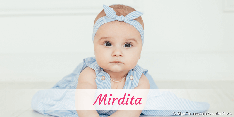Name Mirdita als Bild