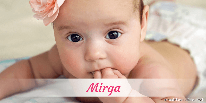 Name Mirga als Bild