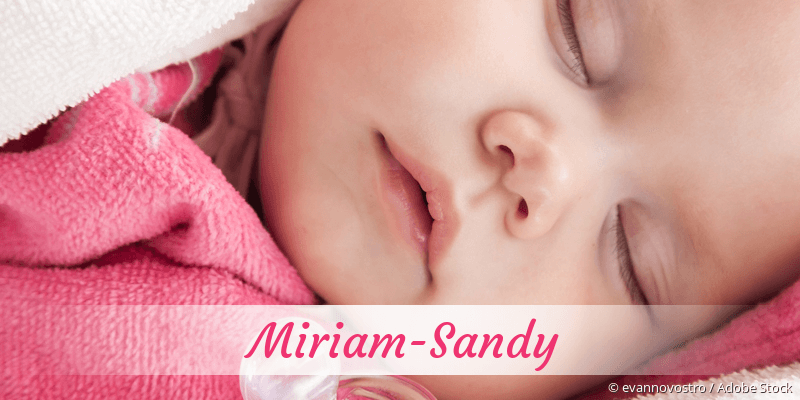 Name Miriam-Sandy als Bild