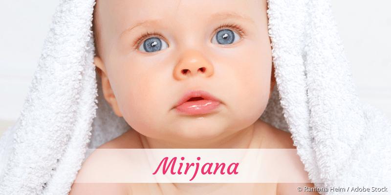Name Mirjana als Bild