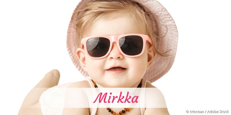 Name Mirkka als Bild