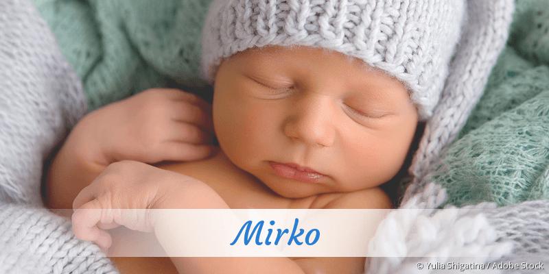 Name Mirko als Bild