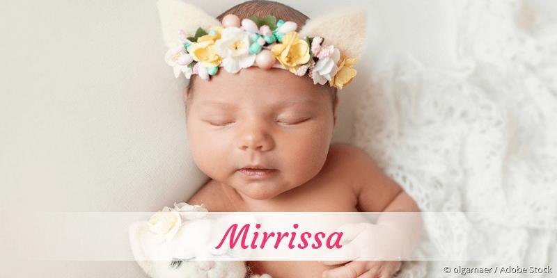 Name Mirrissa als Bild