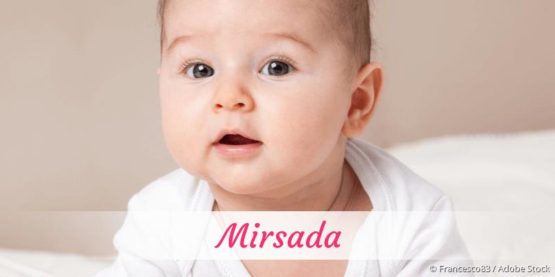 Name Mirsada als Bild