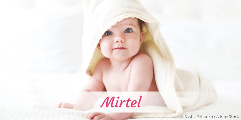 Name Mirtel als Bild