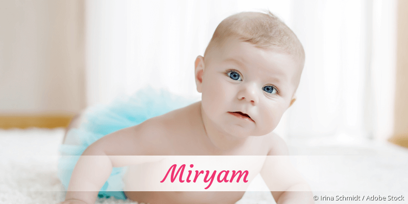Name Miryam als Bild