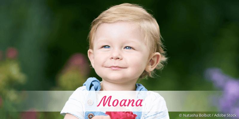 Name Moana als Bild