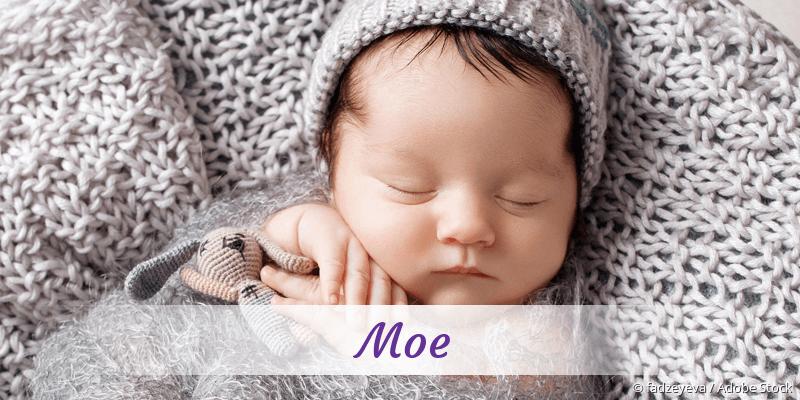 Name Moe als Bild