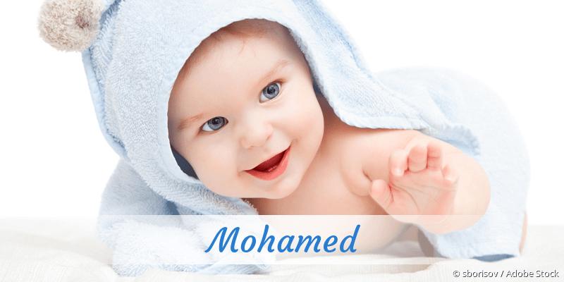 Name Mohamed als Bild