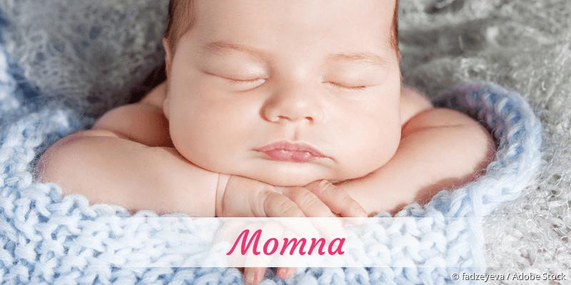 Name Momna als Bild
