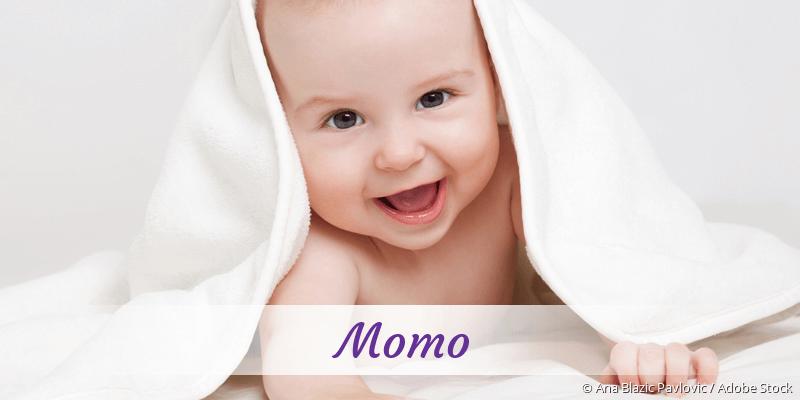 Name Momo als Bild