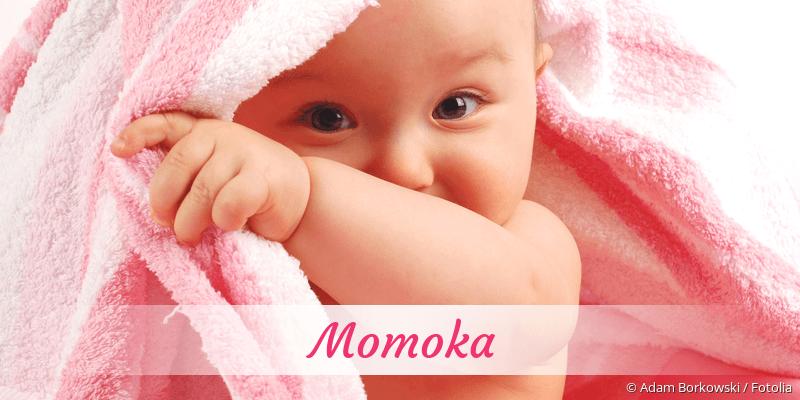 Name Momoka als Bild