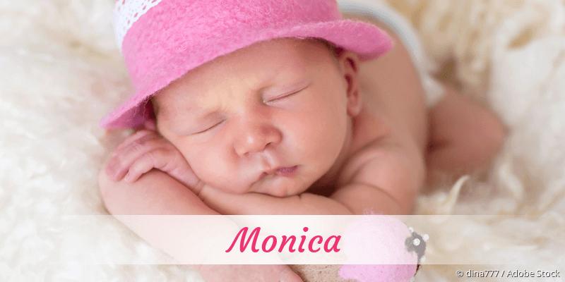 Name Monica als Bild