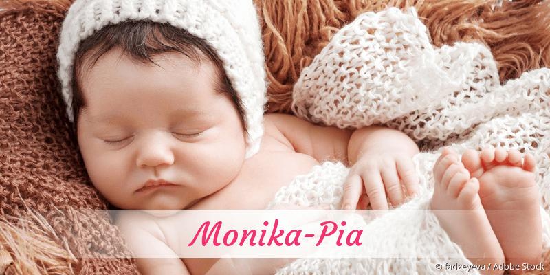 Name Monika-Pia als Bild
