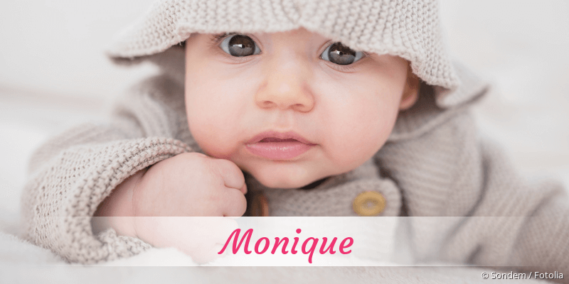 Name Monique als Bild