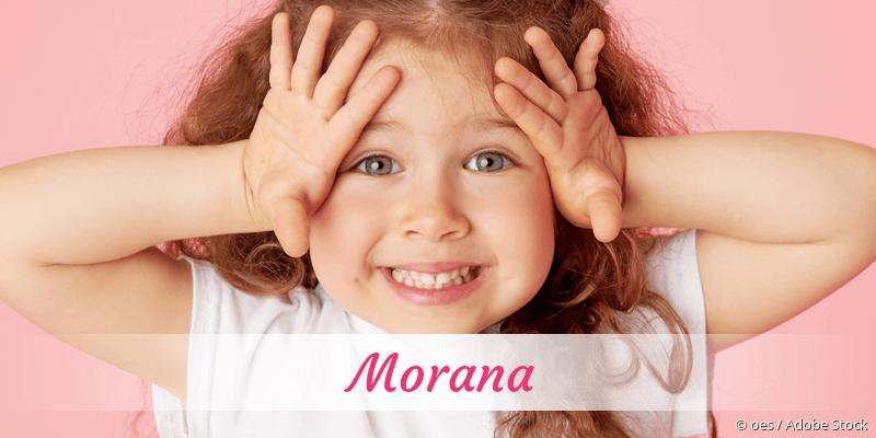 Name Morana als Bild