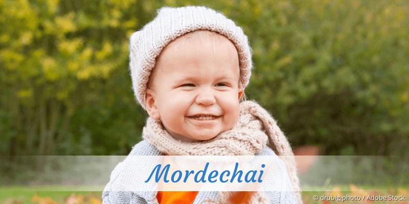 Name Mordechai als Bild