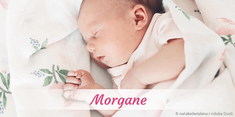 Name Morgane als Bild
