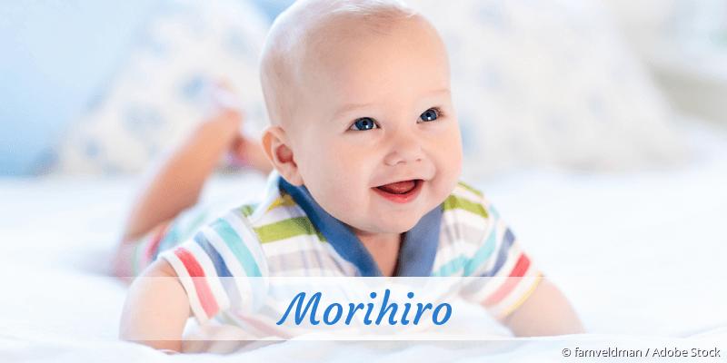 Name Morihiro als Bild