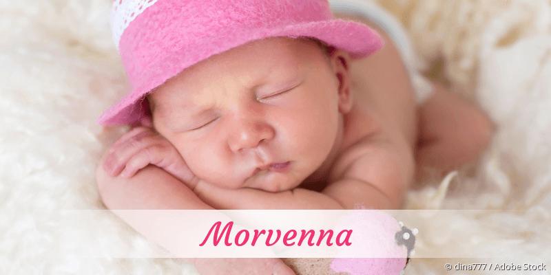 Name Morvenna als Bild