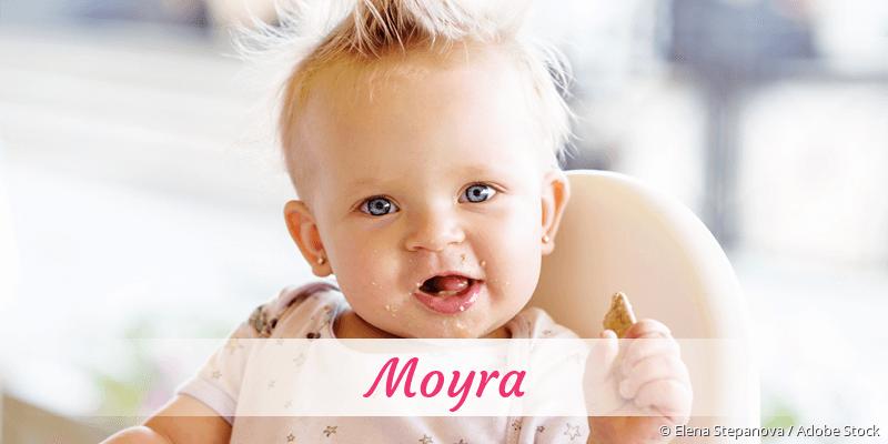 Name Moyra als Bild