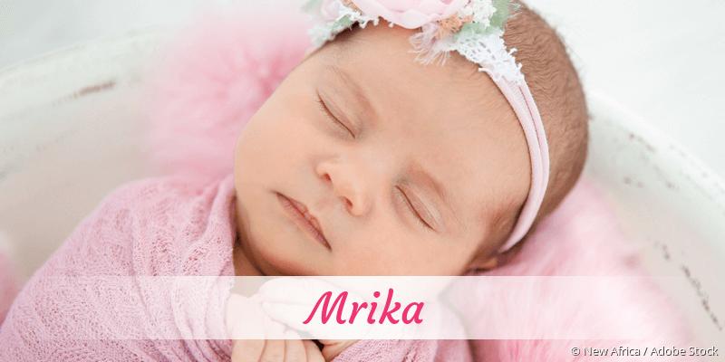 Name Mrika als Bild
