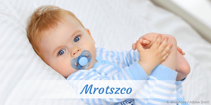 Name Mrotszco als Bild