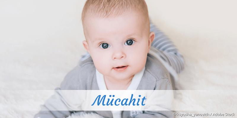 Name Mücahit als Bild