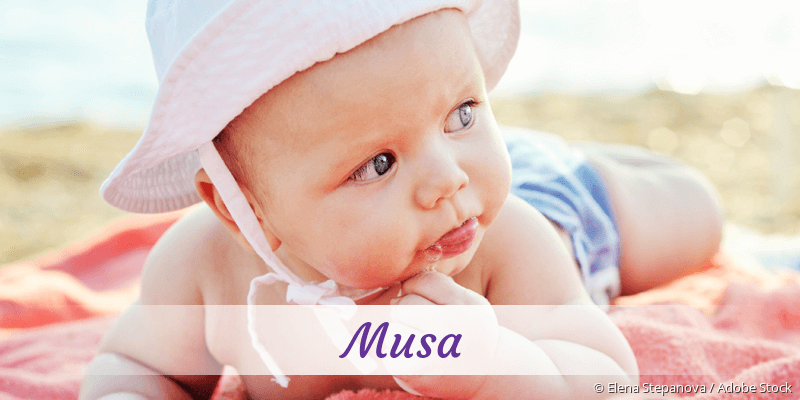 Name Musa als Bild