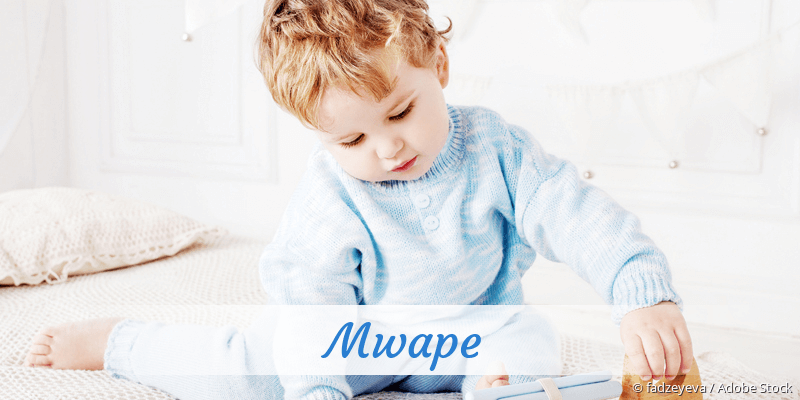 Name Mwape als Bild