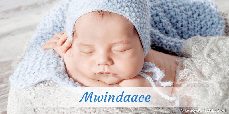 Name Mwindaace als Bild