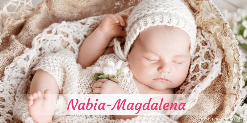 Name Nabia-Magdalena als Bild
