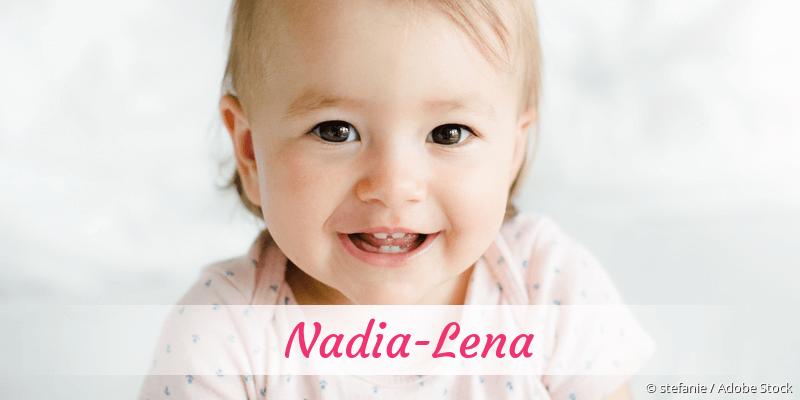 Name Nadia-Lena als Bild