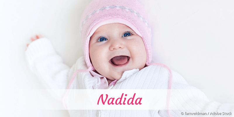 Name Nadida als Bild