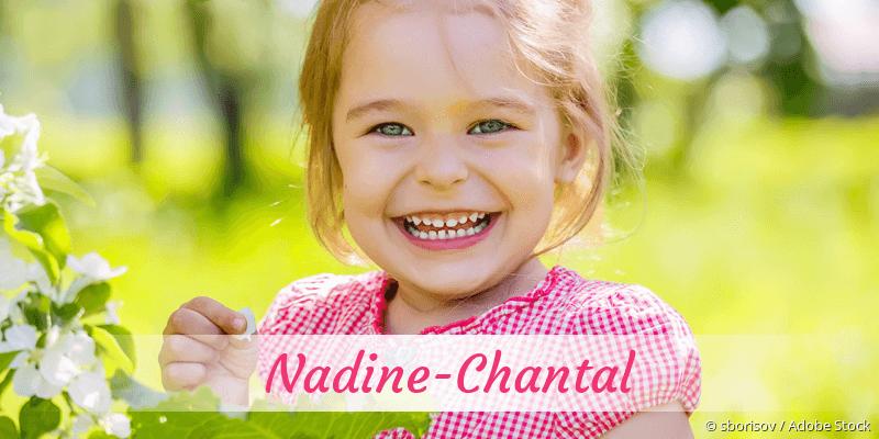 Name Nadine-Chantal als Bild